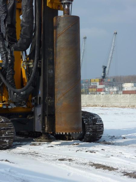 Diamantkernrohr  d 880 x 5000 mm Nutzlänge auf Bauer RG 25 in Kaliningrad